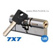"""Цилиндр Mul-T-Lock """"7x7"""" L80"""