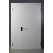Противопожарная металлическая дверь EI 60 двупольная ДПМ-02/60 глухая