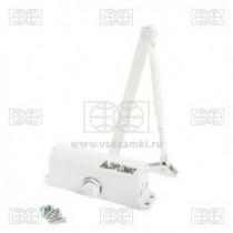 Доводчик DIPLOMAT № 602 /до 50 кг./белый/
