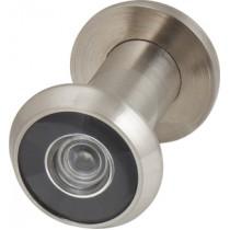Глазок дверной, пластиковая оптика DV1, 16/35х60 SN Мат. никель