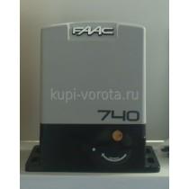Привод (электропривод) для откатных (сдвижных) ворот FAAC 740